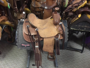 Kids Saddles: 10, 12, & 13 Inch for the Young Cow Hands